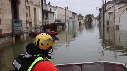 VÍDEO: enchentes atingem região sudoeste da França