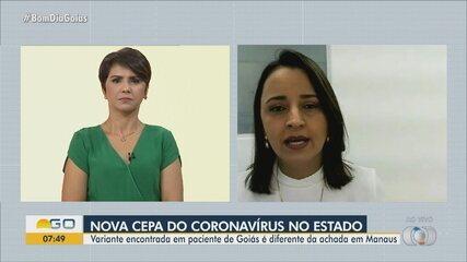 Nova variante do coronavírus é identificada em Goiás