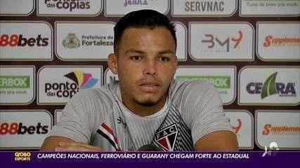Campeões nacionais, Ferroviário e Guarany chegam forte ao estadual