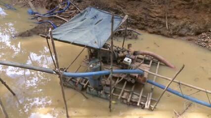 Governo de RR autoriza garimpo no Estado, mas diz que não afeta terra indígena