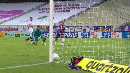 Melhores momentos: Fortaleza 3 x 0 Vasco pela 35ª rodada do Campeonato Brasileiro