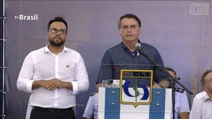 VÍDEO: Bolsonaro diz que ditadura foi um regime 'um pouco diferente do que vivemos hoje'
