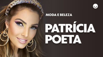 Patrícia Poeta e Fernando Torquatto ensinam passo a passo de uma make de Carnaval