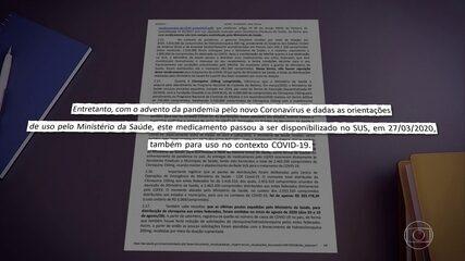 Ministério da Saúde distribuiu cloroquina de combate à malária para tratar covid