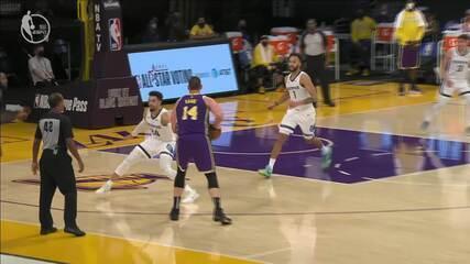 Melhores Momentos: Los Angeles Lakers 115 x 105 Memphis Grizzlies pela NBA