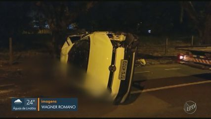 Jovem de 24 anos morre após capotar o carro em Piracicaba