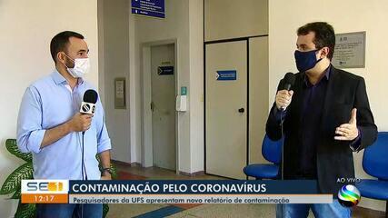 UFS divulga estudo sobre contaminação pelo coronavírus em Sergipe