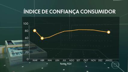 Pandemia derruba índices de confiança de empresas e consumidores brasileiros