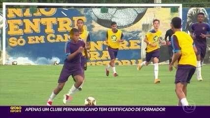 Em Pernambuco, apenas o Retrô tem certificado de clube formador; Trio de ferro perdeu