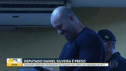 PF prende deputado Daniel Silveira por apologia ao AI-5 e defendeu fechar o STF