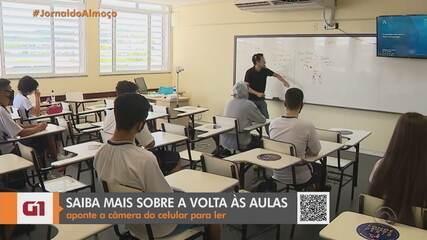 Escolas particulares retomam aulas presenciais em Porto Alegre