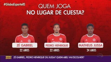 Zé Gabriel, Pedro Henrique ou Jussa? Quem Abel deve escolher para enfrentar o Flamengo?