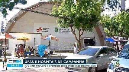 170 leitos para as UPAS de Fortaleza