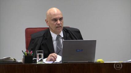 Ministro Alexandre de Moraes afirma que conduta do deputado Daniel Silveira se enquadra em Lei de Segurança Nacional