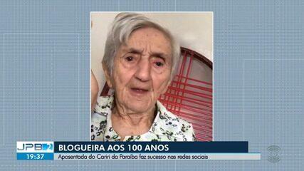 Blogueira aos 100 anos faz sucesso nas redes sociais