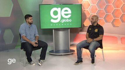 Entrevista com Rafael Guanaes, técnico do Sampaio Corrêa