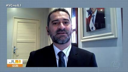 Titular da Segup, Ualame Machado, fala sobre flexibilização de medidas em decreto estadual