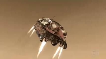Robô americano 'Perseverança' pousa no planeta Marte