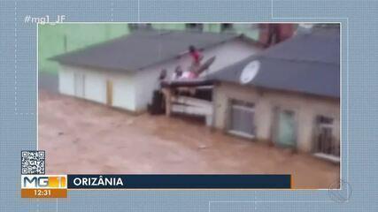 Tempestades causam estragos na Zona da Mata e Vertentes; uma pessoa morreu