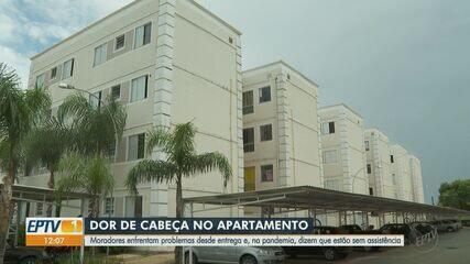Moradores enfrentam problemas com apartamentos há quatro anos em Ribeirão Preto