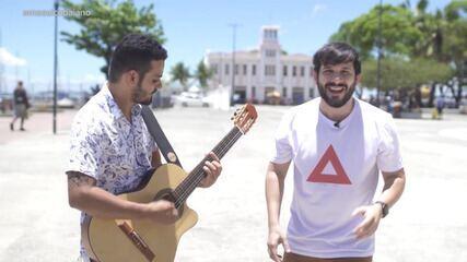 O cantor João Pipolo fala sobre a volta da banda de axé music Papaléguas