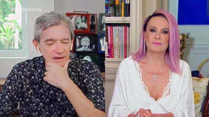 Serginho entrevista Ana Maria Braga