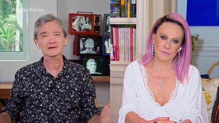 Serginho continua sua entrevista com Ana Maria Braga
