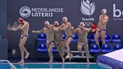 Croácia vence a Rússia após três séries de pênaltis no polo aquático e está nos Jogos Olímpicos