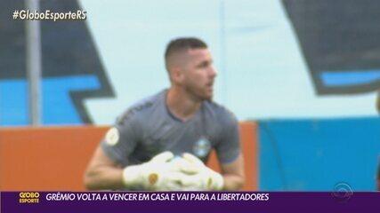 Grêmio volta a vencer na Arena e garante participação na Libertadores 2021