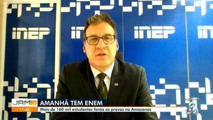 Presidente do Inep fala sobre o Enem no Amazonas