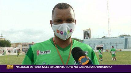 Nacional de Patos quer brigar pelo topo no Campeonato Paraibano
