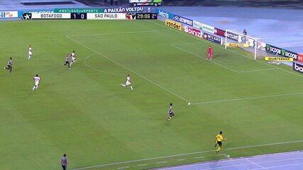 Melhores momentos: Botafogo 1 x 0 São Paulo, pela 37ª rodada do Brasileirão