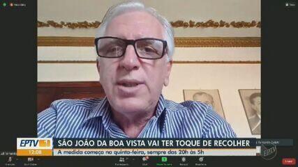 São João da Boa Vista decreta toque de recolher para conter avanço da Covid-19