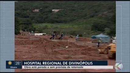 Obras do Hospital Regional de Divinópolis seguem paradas há mais de 10 anos