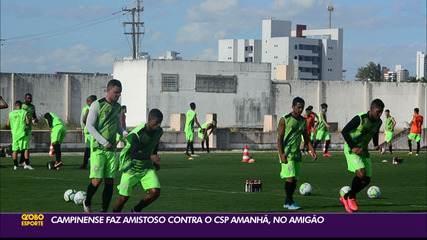 Allefe elogia o trabalho do treinador Ederson Araújo no Campinense