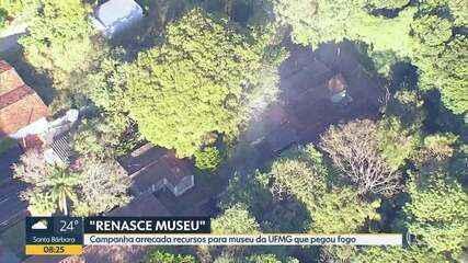 Campanha arrecada recursos para museu da UFMG que pegou fogo