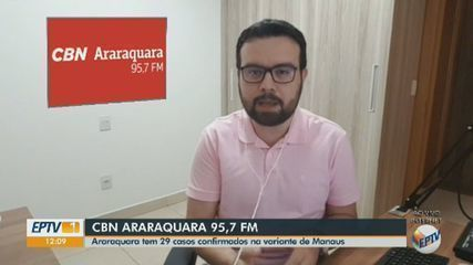 Araraquara confirma 29 casos da variante brasileira do novo coronavírus