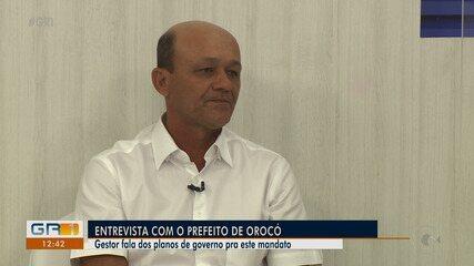 Prefeito de Orocó fala sobre planos e desafios da gestão