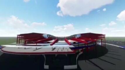 Projeto de reforma do Estádio Olímpico do Pará, o Mangueirão