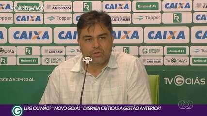 Nova gestão do Goiás critica diretoria anterior, que rebate postagem nas redes