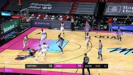 Melhores momentos: Miami Heat 116 x 108 Toronto Raptors pela NBA