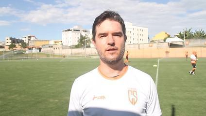 Giacomini fala da expectativa do Coimbra no Mineiro e mira vaga na Série D do Brasileiro
