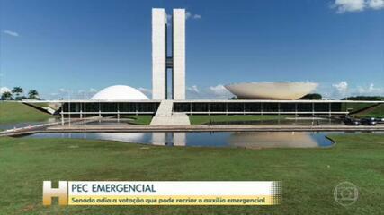 Votação da PEC Emergencial fica para a semana que vem