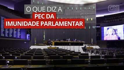 VÍDEO: saiba o que diz a PEC sobre imunidade parlamentar