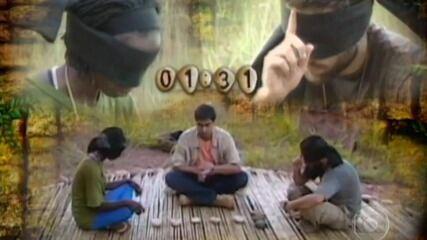 Léo vence a prova final do 'No Limite (2001)'