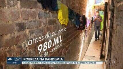 Em 1 ano de pandemia, mais 745 mil pessoas passaram a viver na pobreza no RJ, aponta estudo da FGV