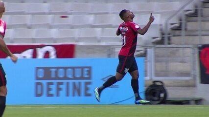Gols de Athletico 2x0 Sport, pela 38ª rodada do Brasileirão