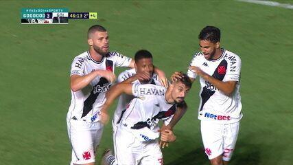 Os gols de Vasco 3 x 2 Goiás pela 38ª rodada do Brasileirão 2020