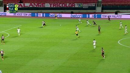 Melhores momentos: São Paulo 2 x 1 Flamengo, pela 38ª rodada do Brasileirão