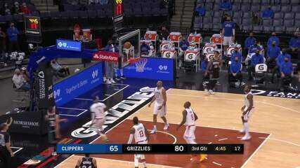 Melhores momentos: Memphis Grizzlies 122 x 94 Los Angeles Clippers pela NBA
